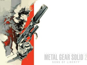 Metal Gear Solid 2 Cover