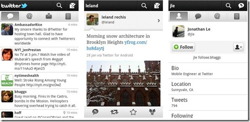 twitter for android 2